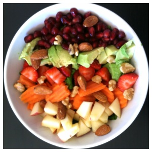 Fruit and veggie salad